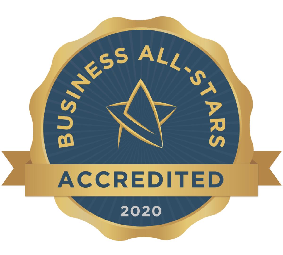 Irish Business All-Stars Award 2020
